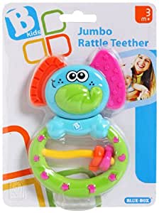 B kids B Kids B Kids Jumbo Rattle Teether