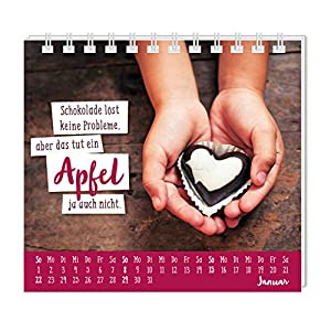 Eine extra Portion Glück für dich 2017: Mini-Kalender