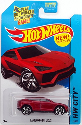 Hot Wheels Lamborghini Urus HW City 2015 23/250 red - 1