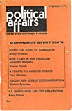 img - for Political Affairs, Journal of Marxist Thought & Analysis, February 1974, Special Issue on Afro-American History book / textbook / text book