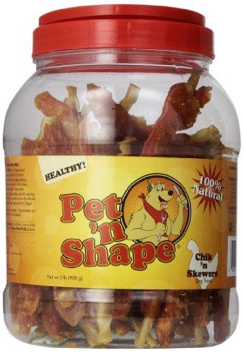 Pet 'n Shape Chik 'n Skewers Treat for Dogs, 32-Ounce