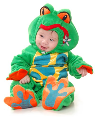 Froggie Went A Courtin Infant Halloween Costume