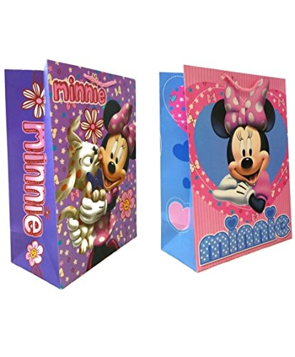 Disney Minnie Mouse Gift Bags (2-Pack)