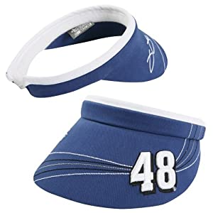Chase Authentics Jimmie Johnson Ladies 2014 Draft Visor - Royal Blue by Chase Authentics
