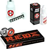 Bones Reds Precision Skate Bearings - Speed Cream & Cleaning Unit Combo
