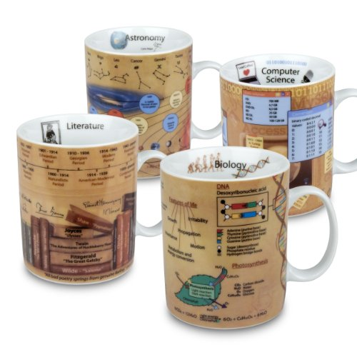 Konitz Science Mugs, Assorted, Set of 4 (Periodic Table Mug compare prices)