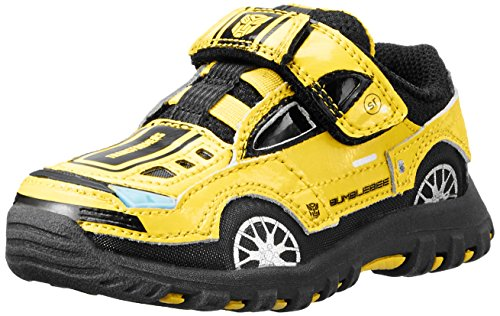 Stride Rite Transformers Bumblebee Lighted Shoe (Infant/Toddler/Little Kid),Yellow/Black,11.5 M Us Little Kid front-1043357