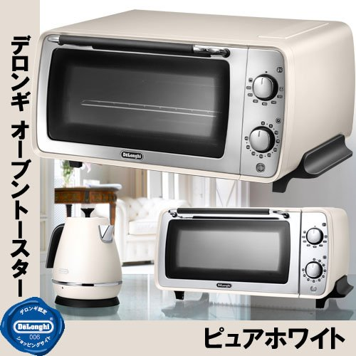 DeLonghi Distinta collection Oven and toaster EOI406J-W (Pure White) (Delonghi Toaster Oven Tray compare prices)