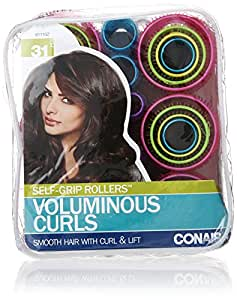 amazoncom conair selfgrip rollers assorted 31 count