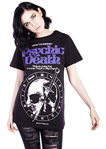 Disturbia Clothing -  T-shirt - Donna nero Small