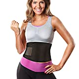 OMorc Waist Trimmer Belt, Pro Fitness Adjustable Waist Trainer Tummy Control For Faster Weight Loss Adult Men Women