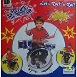New Child Kid Toy Kids Big Band Drum Set Toy Drum-Color May Vary