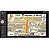 JENSEN VX7020 2DIN Multimedia Receiver with Built-In Navigation and Bluetooth