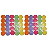 Rasmy Tealight Multi Colour T Lites Pack Of 50pcs