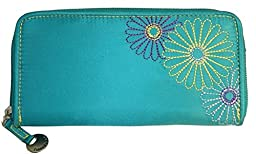 Travelon Rfid Wallet,One Size,Teal