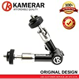 """New Kamerar Stainless Steel 7"""" Tough Friction Arm for DSLR cage stabilizer rig rods video photo"""