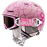 Smith Optics Youth Galaxy/Cosmos Jr. Integrated Goggle (Pink Pop, Rc36)