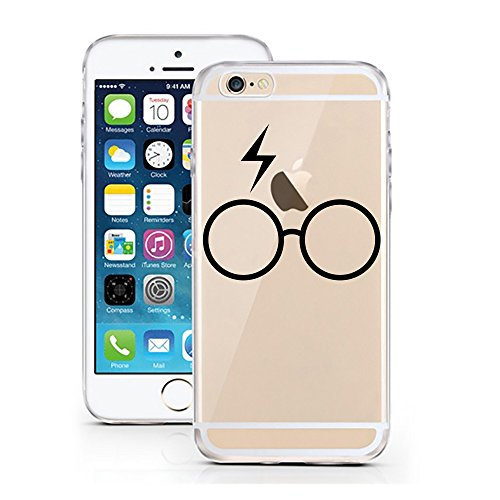 iPhone 6 Cover di licaso® per il Apple iPhone 6 & 6S in TPU silicone bumper motivo Ultra sottile protegge il tuo iPhone 6 & è elegante Cover in un, Harry Potter, iPhone 5 5S SE