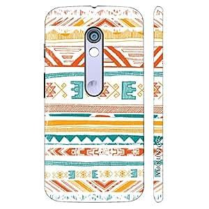 Enthopia Designer Hardshell Case Aztec Art 2 Back Cover for Motorola Moto X Play