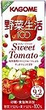(お徳用ボックス)カゴメ 野菜生活100Sweet Tomato 200ml×24本入り