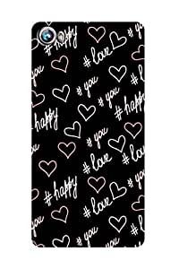 ZAPCASE PRINTED BACK COVER FOR MICROMAX FIRE 4 A107 Multicolor