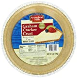 Arrowhead Mills Graham Pie Crust,  6-Ounce Unit (Pack of 6)