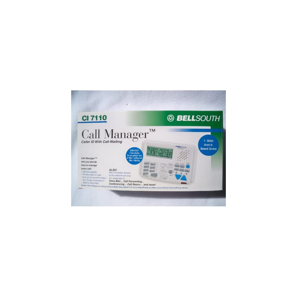 BELLSOUTH CI 7112 Visual Director Call Manager Unit Caller