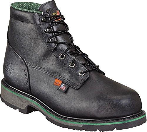 Thorogood Work Boots Mens Full Grain Steel Toe 10 D Black 804-6511 george thorogood montreal