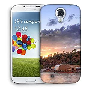 Snoogg Houses Attached With Forest Printed Protective Phone Back Case Cover For Samsung S4 / S IIII