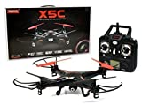 SYMA X5C 2.4 GHZ 4 Channel RC Remote Control UFO Drone Quadcopter with HD Video/Camera [RX Aerio Exclusive - Black]