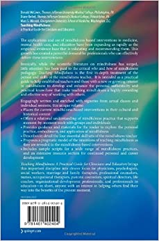 teaching mindfulness a practical guide for clinicians and educators pdf