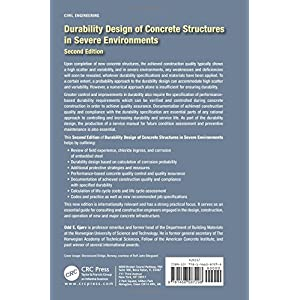 Durability Design of Concrete Structures in Severe Environments, Second Edition