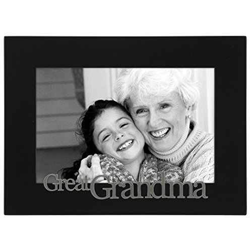 Malden International Designs Great Grandma Expressions Picture Frame, 4x6, Black