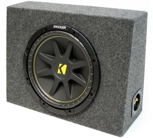 "Asc Package Single 12"" Kicker Sub Box Regular Cab Truck Subwoofer Enclosure C12 Comp 300 Watts Peak"