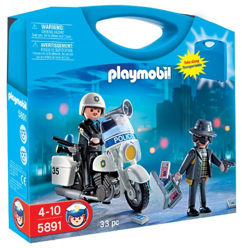 Playmobil Police Carrying Case Playset front-483661