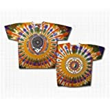 "Grateful Dead ""Steal Your Feathers"" Short Sleeve Tie-Dye T-Shirt"