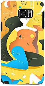 Printfunia D7053 Back Cover for Samsung Note 5