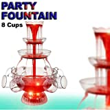 Illuminated Punch Bowl Cocktail Fountain