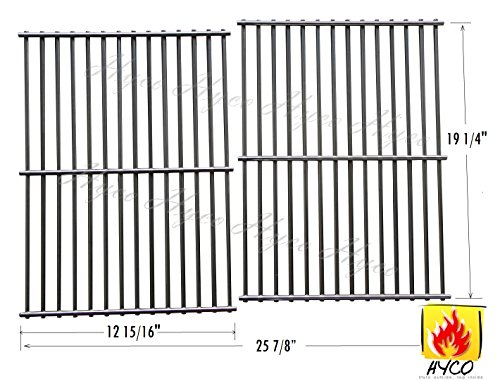 Hyco W63SB Stainless Steel Wire Cooking Grid, Cooking Grate Replacement for Select Gas Grill Models by Jenn-Air, Nexgrill and Others, hy563S2, Set of 2