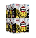 Brawny Paper Towels, 24 Regular Rolls, Pick-A-Size, White