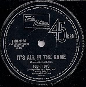 Four Tops - It's All In The Game