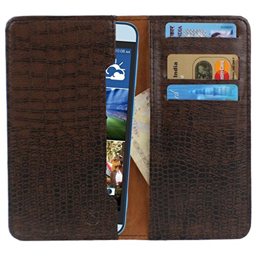 D.rD PU Leather Mobile case and cover with carry pouch and card holder for Blackberry Z3