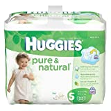 Huggies Pure & Natural Diapers Size 5 - 52 Ct