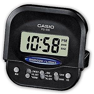 Casio - PQ-30B-1EF - Réveil à affichage Digital - Alarme répétitive - Eclairage LED