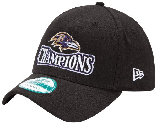 Nfl Baltimore Ravens Super Bowl Xlvii Champs Hat, Black Picture