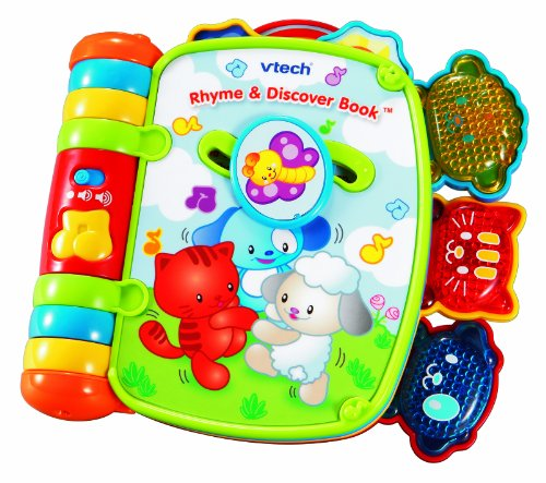 510fQPHE%2BwL VTech   Rhyme and Discover Book