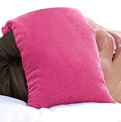 Organic Maati Nature Soothe Hot/Cold Body Wrap (Pink, 16 Cms X 49 Cms X 1.5 Cms) - Clove
