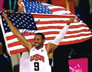 Signed Iguodala Photograph - DENVER NUGGETS TEAM USA 11X14 COA - Autographed NBA... by Sports Memorabilia