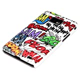 DeinPhone Comic Boom Hardcase Cover Bumper for Samsung Galaxy S2 i9100 S2 PLUS i9105 S II