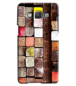 Omnam Pattern Made Of Woods Printed Back Cover Case For Samsung Galaxy E7